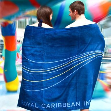 Royal Caribbean Beach Towel