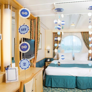 Room decorations royal caribbean international royal for Sejour design decoration