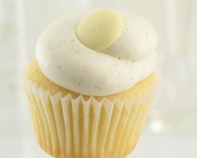 Royal Caribbean Vanilla cupcake