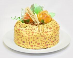 Celebration Cake - Vanilla & White Chocolate Decorative Sheet